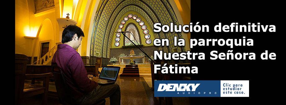 Caso de estudio: parroquia Nuestra Señora de Fátima