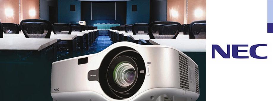 NEC: proyectores y equipos audiovisuales