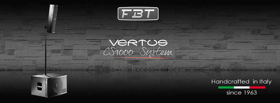 FBT - Vertus CS-1000 compact column line array system